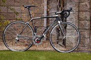 The home Madone for the RadioShack riders