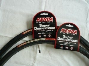Kenda is producing tubular tires in 2010