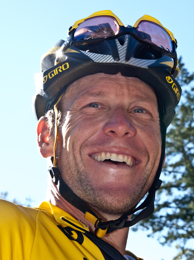 Lance Armstrong   Photo: Al Crawford