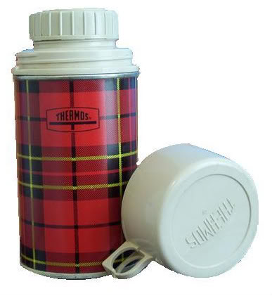 """All you're left with is a plaid thermos..."" the wolfman"