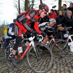 Murphy hitting the cobbles at Omloop PHOTO: Tim De Waele