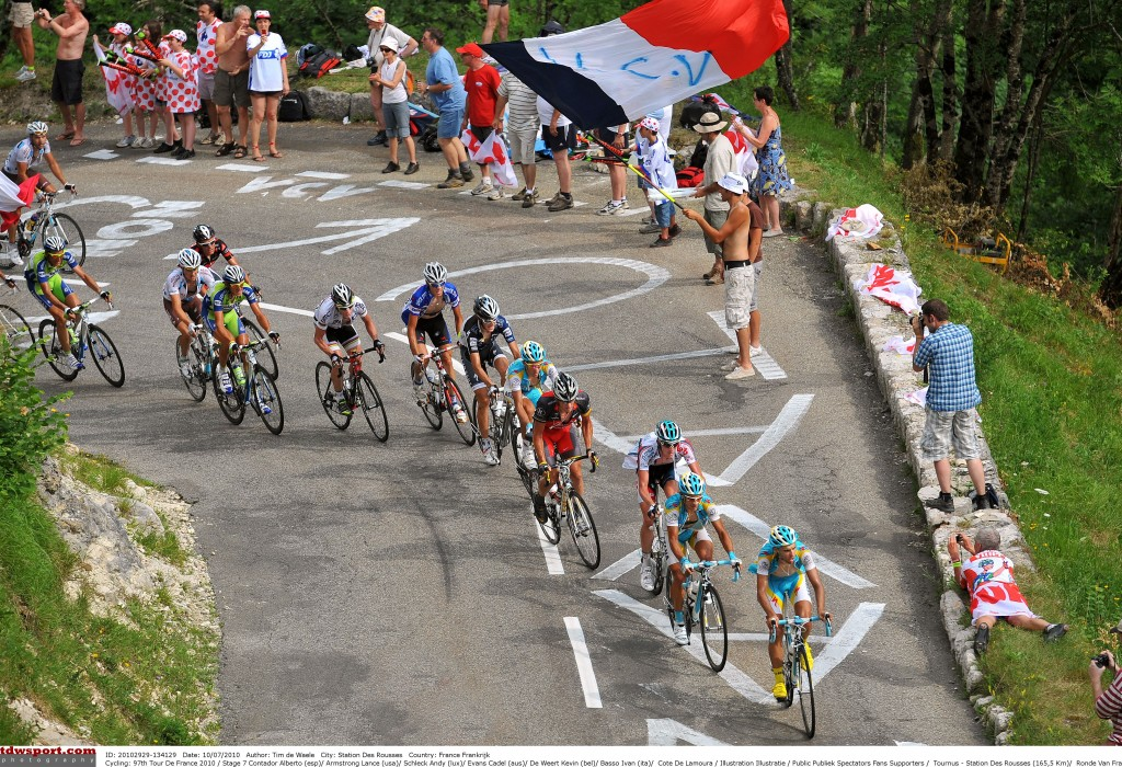Cycling: 97th Tour de France 2010 / Stage 7