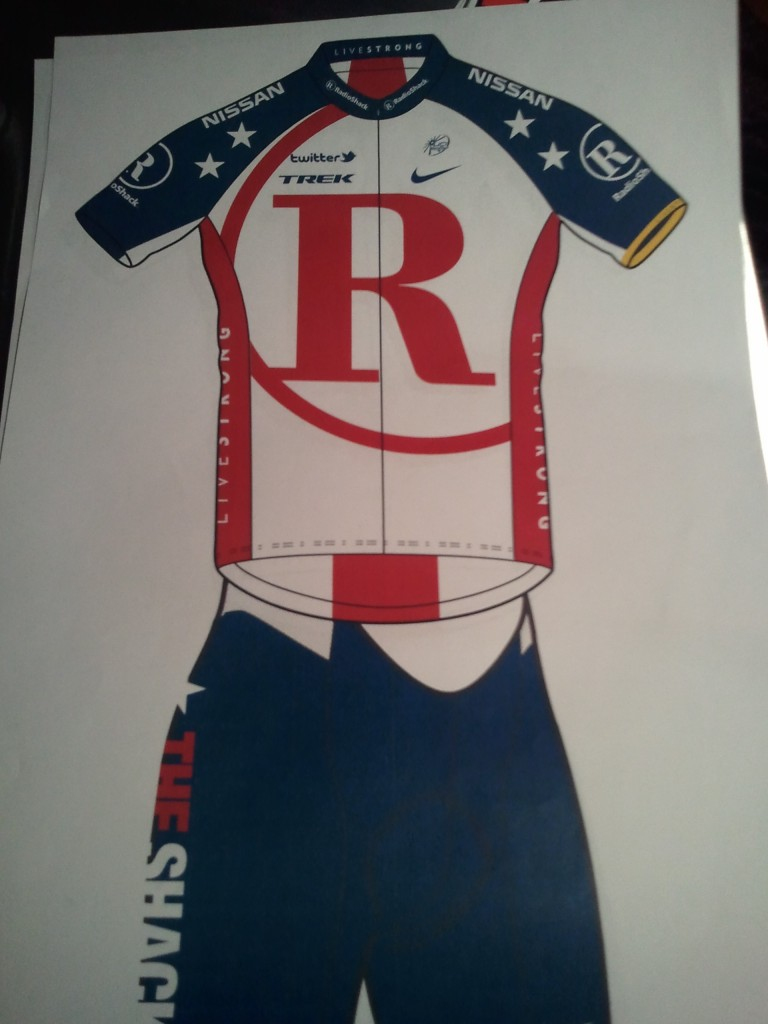 2011 Team RadioShack Kit