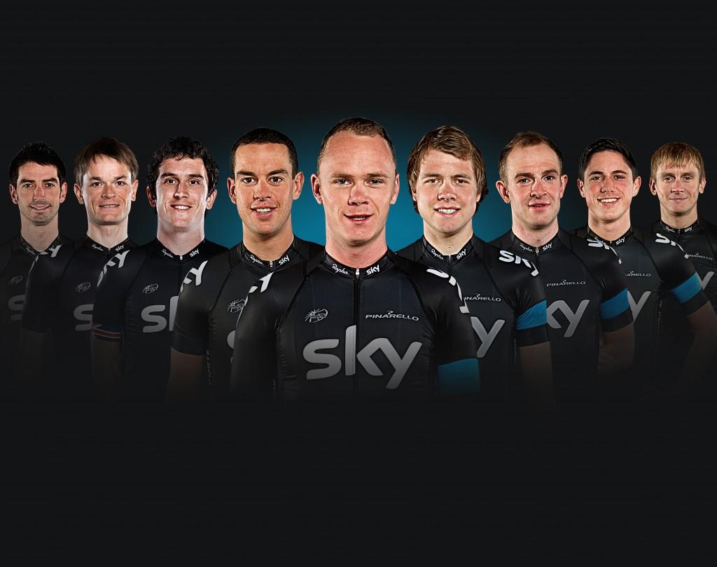 Team Sky 2013 Tour de France line-up