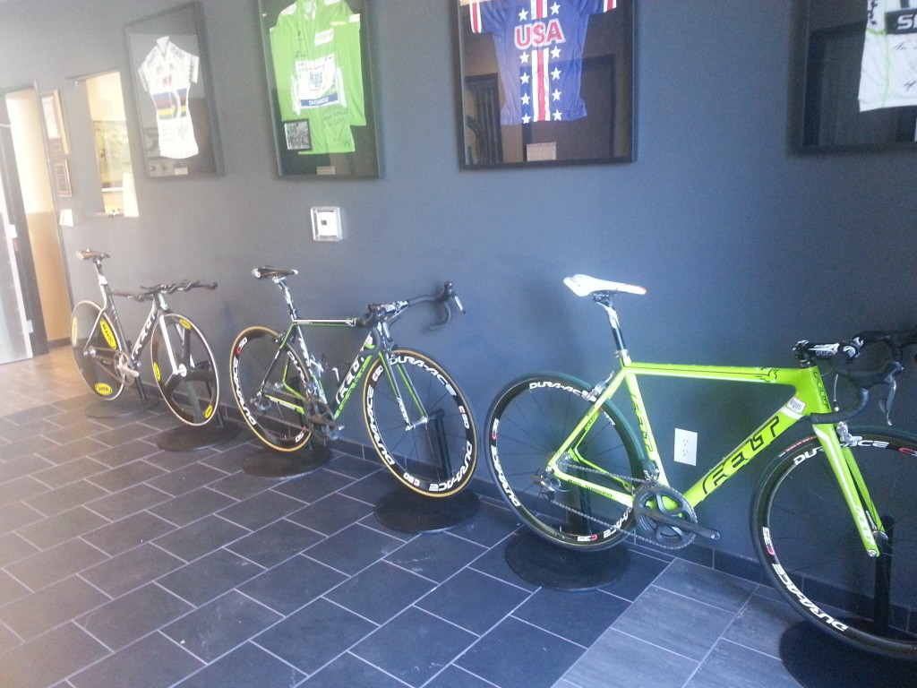 The Felt HQ lobby has a nice collection.
