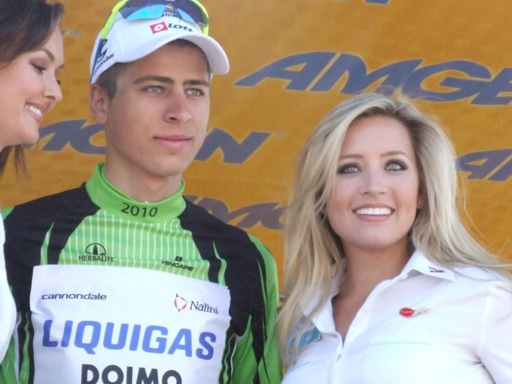 Sagan podium