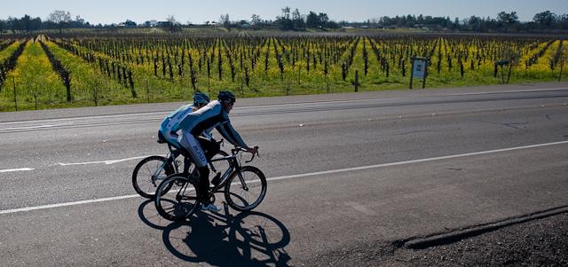 Riding in Santa Rosa