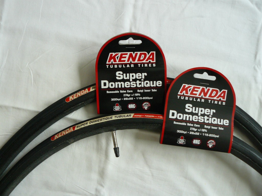 Kenda is producing tubular tires in 2010