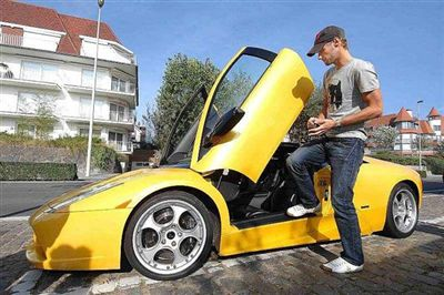 Do you have room in your driveway for Boonen's Lambo?